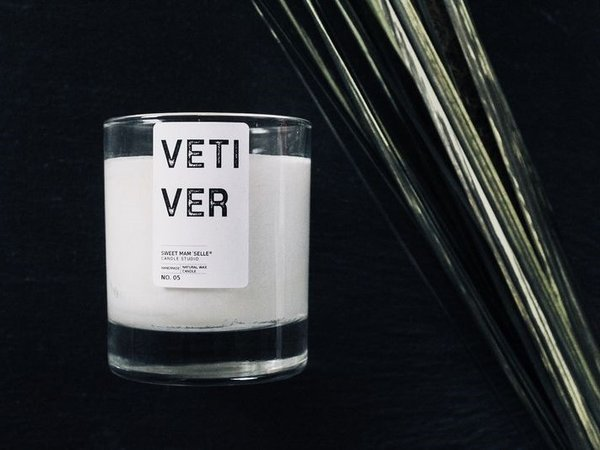 Vetiver No. 5 Duftkerze